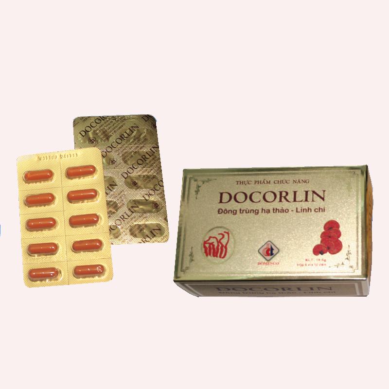 Docorlin (Đông trùng Hạ thảo - Linh chi)