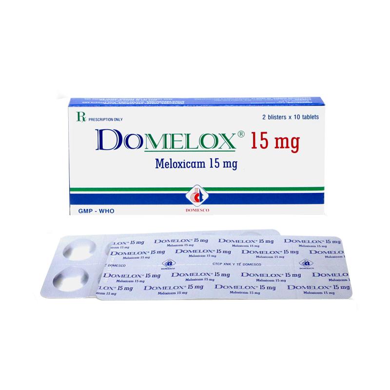 DOMELOX 15MG