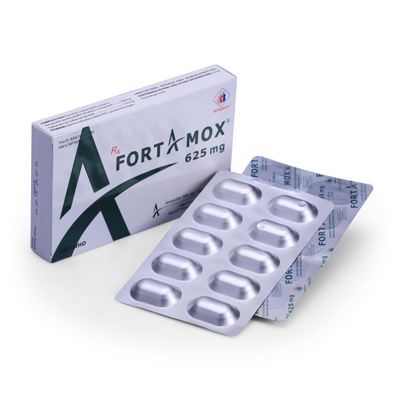 FORTAMOX 625MG