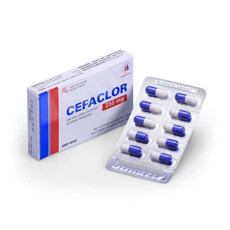 Cefaclor 250mg (tím-trắng)