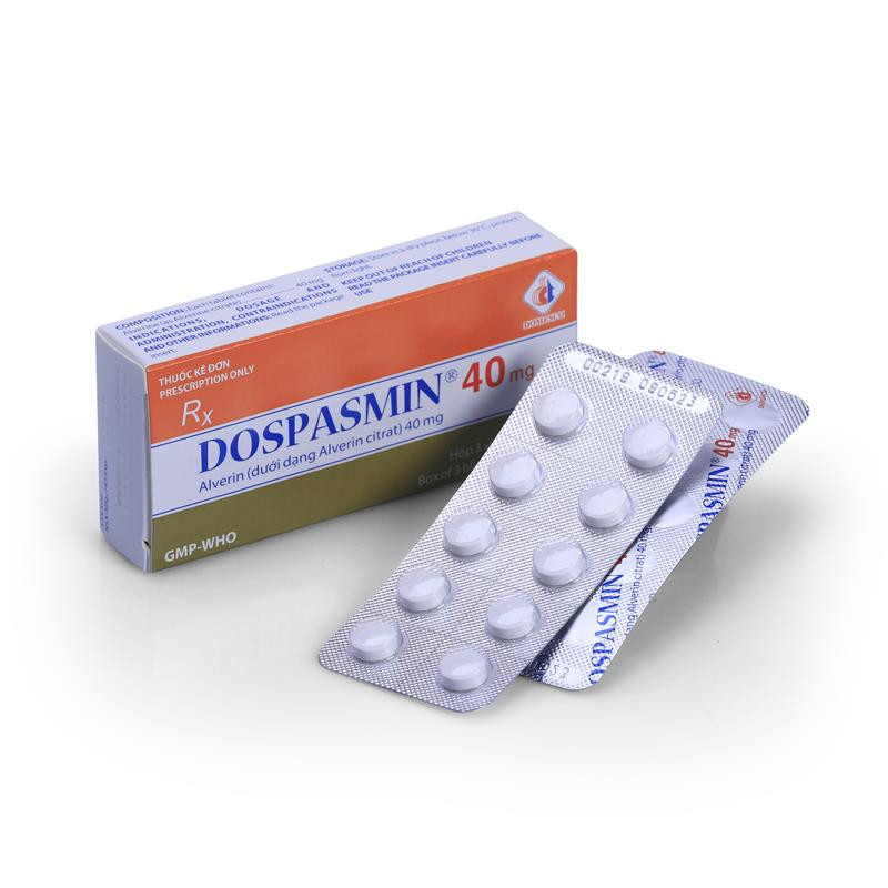 Dospasmin 40mg (VIÊN NÉN)