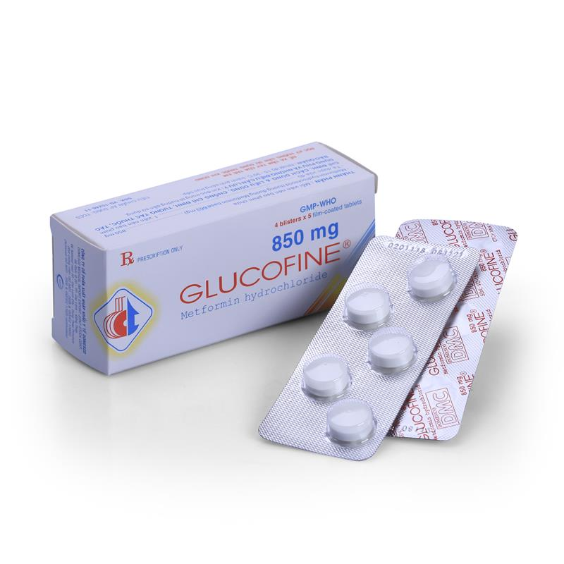 Glucofine 850mg