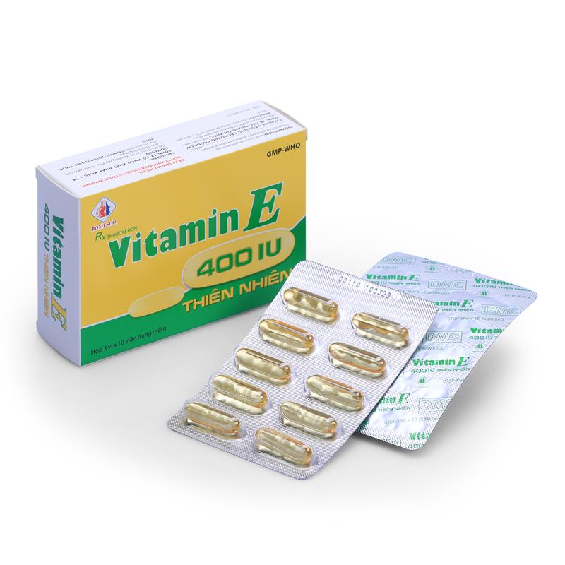 Vitamin E 400 thiên nhiên