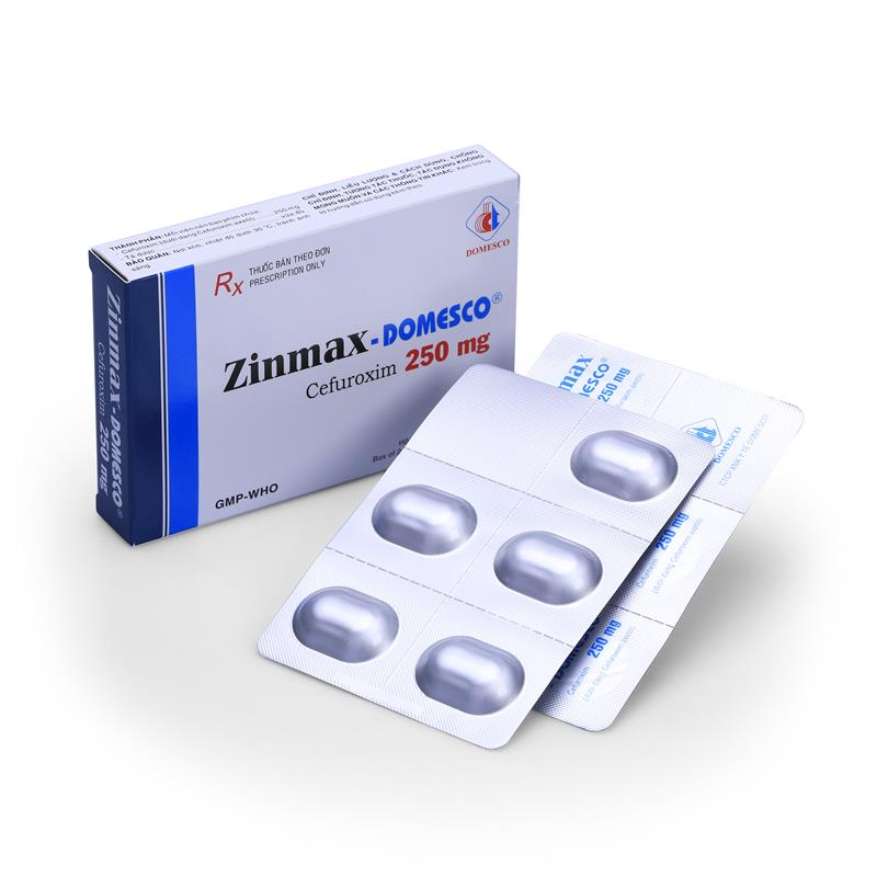 Zinmax - Domesco 250mg