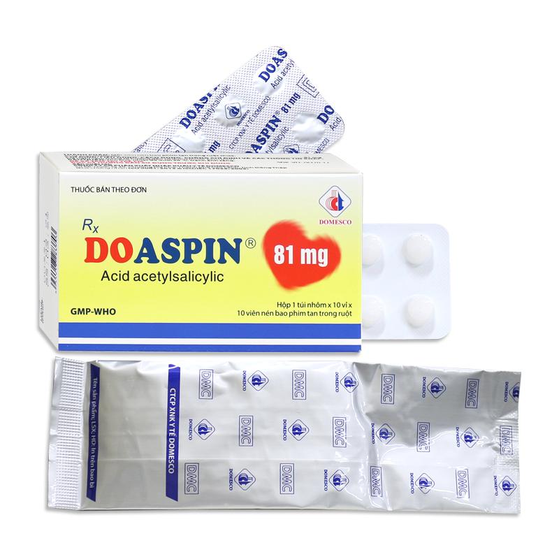 DOASPIN 81MG