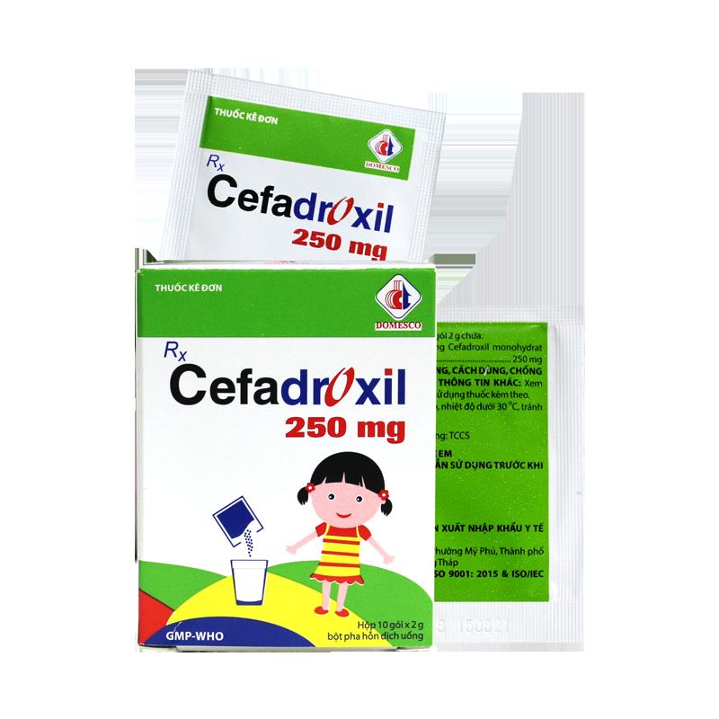 CEFADROXIL 250MG (GÓI)