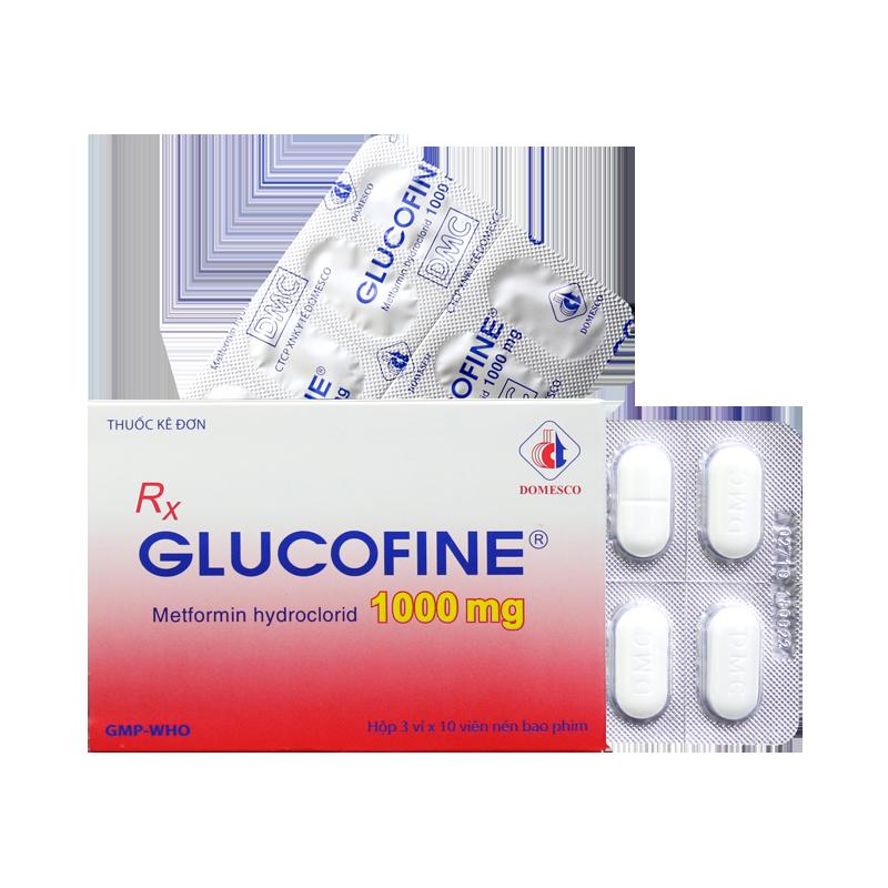 GLUCOFINE 1000MG