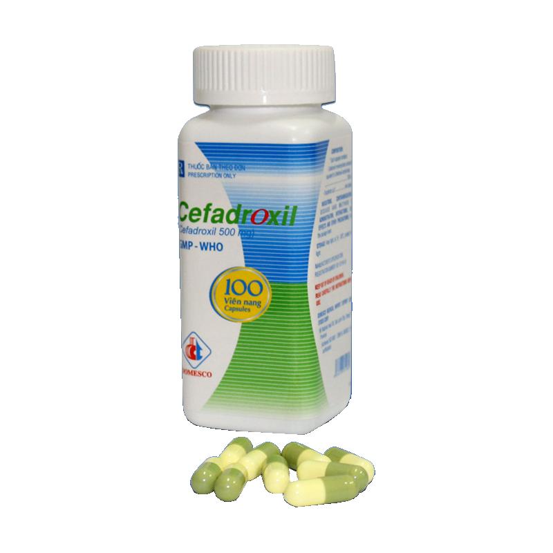 Cefadroxil 500mg (xanh - vàng)