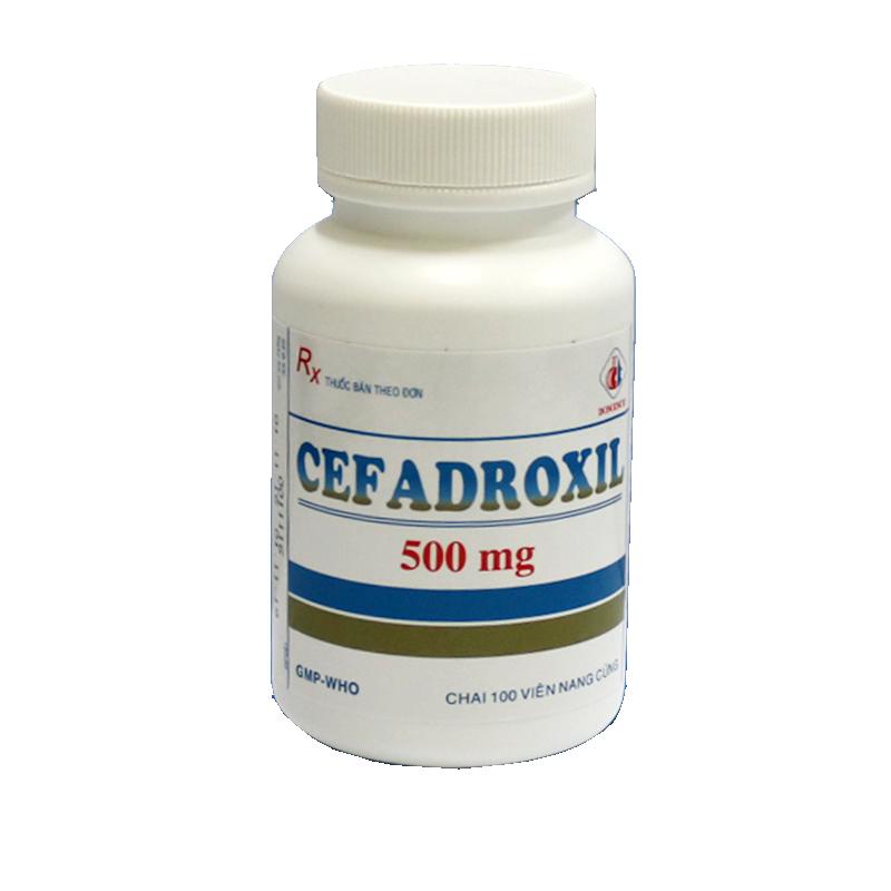 Cefadroxil 500mg (xanh - xám)