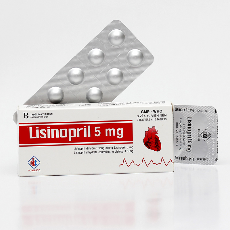 Lisinopril 5mg