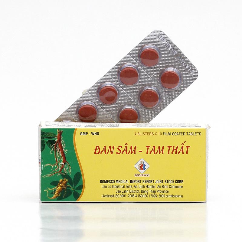 Đan Sâm - Tam Thất